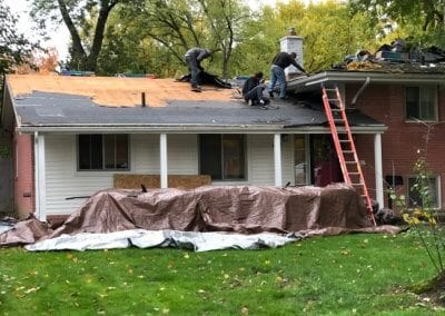 Southfield Roof Install