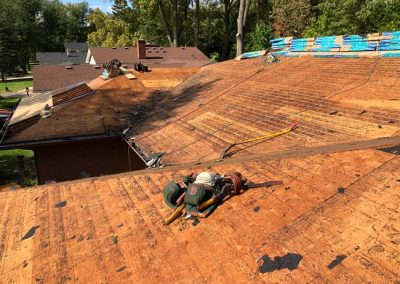 3 Roof Wood Replacement Southfield MI