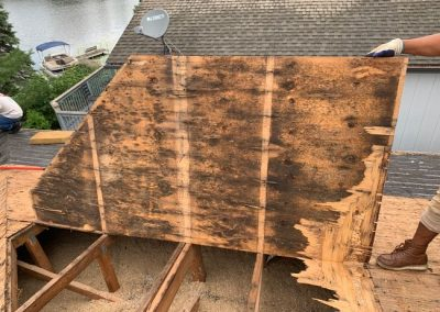 4 Roof Wood Replacement Brighton MI