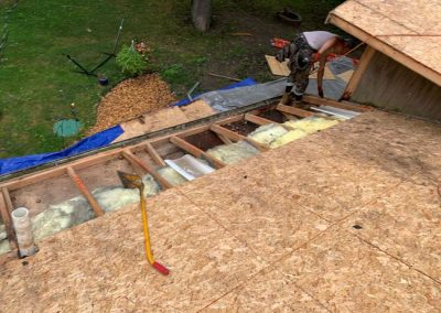 4 Roof Wood Replacement Commerce Michigan