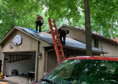 6 New Roof Construction Commerce Michigan