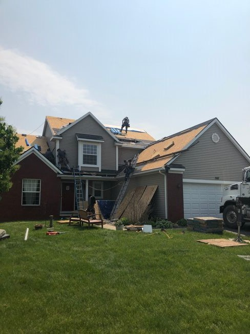 Roof Installation In Howell Mi Ct Quot Moire Black Quot Home