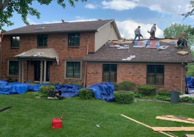 Cover High Definition Roof Replacement Commerce MI