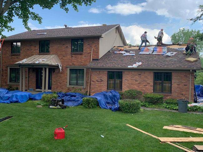 Commerce MI Roof Install