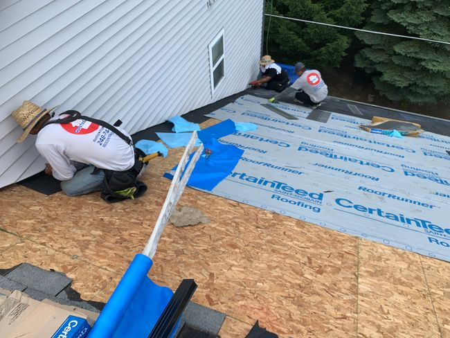 Roof Replacement in Milford