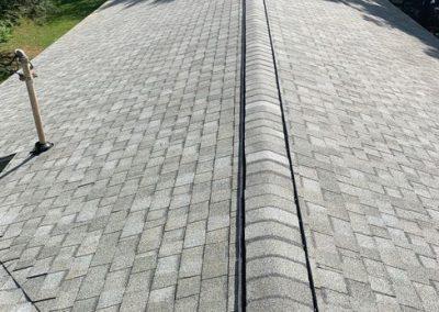 """Roof, Soffit Vent, Fascias, Gutter & Downspout Replacement in Fenton, MI CT """"Cobblestone"""""""