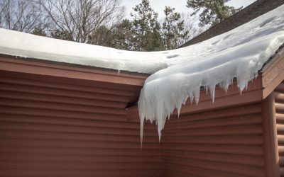How Winter Weather In Michigan Damages Shingle Roofs