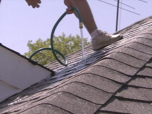 How to find roof leak